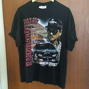Vintage Dale Earnhardt 2000 Nascar Schedule shirt
